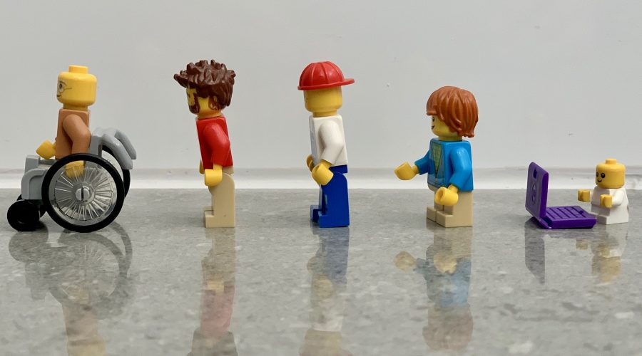 different lego toy figures